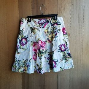 CAbi Afternoon in the Garden Summery Midi Skirt